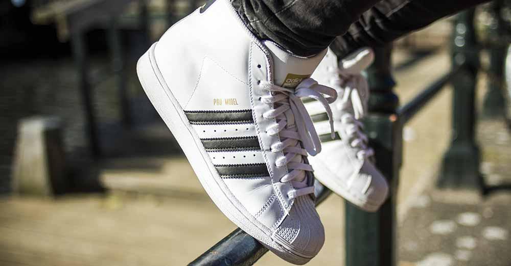 Francis – Adidas Pro model High Tops