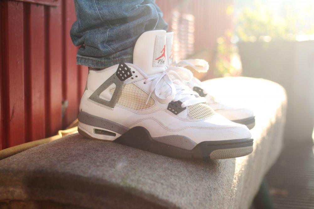 David – Jordan 4 White Cement