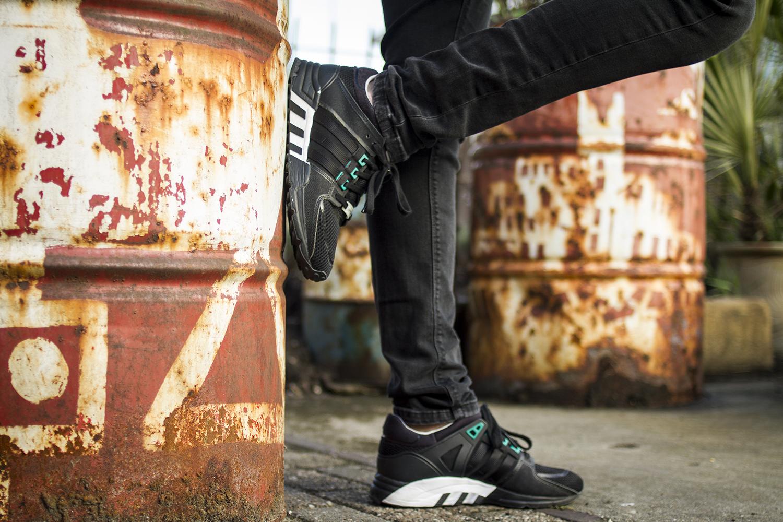 Nick – Adidas EQT Support 2.0 Black
