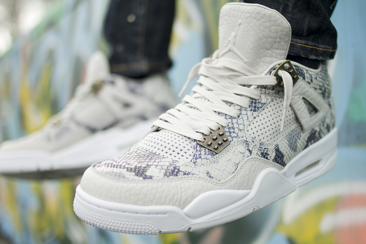 Fabian – Jordan 4 Pinnacle Snakeskin